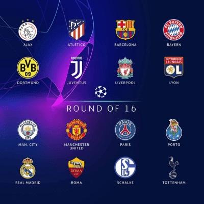 Biểu tượng của các đội bóng ở giải Champions League