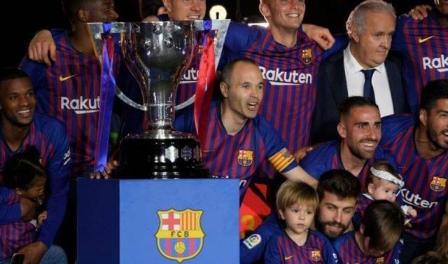 Chiếc cúp vô địch La Liga