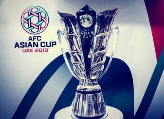 Chiếc cúp vô địch của giải đấu Asian Cup