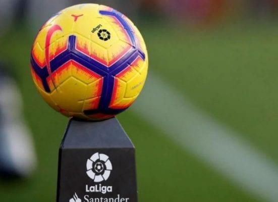 Hình ảnh trái bóng được dùng trong các trận đấu của La Liga