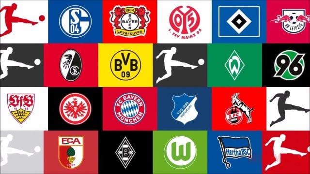 Biểu tượng các đội bóng tại Bundesliga