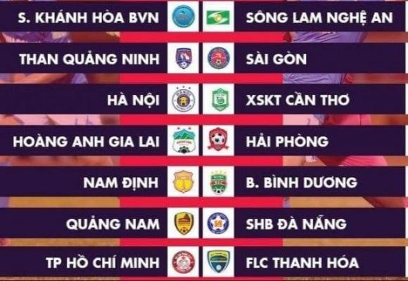 Biểu tượng các đội bóng thi đấu tại V League