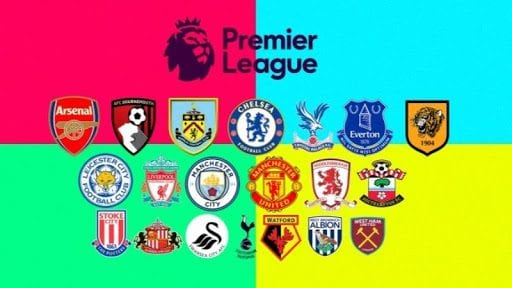 Biểu tượng tất cả các câu lạc bộ Ngoại Hạng Anh