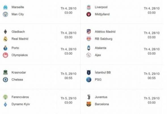 Lịch thi đấu tuần Ligue 1 tuần này