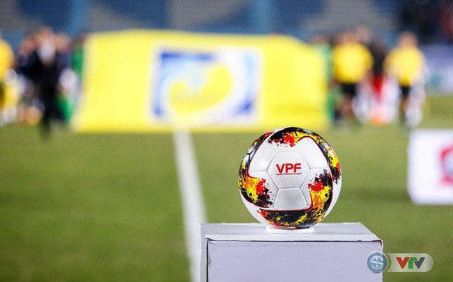 Trái bóng thi đấu tại V League