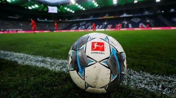 Hình ảnh trái bóng được dùng trong các trận đấu Bundesliga