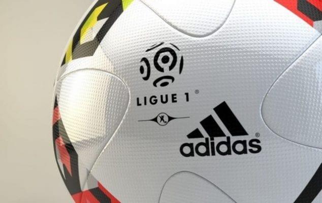 Hình ảnh trái bóng được dùng trong các trận đấu Ligue 1