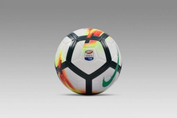 Hình ảnh trái bóng được dùng trong các trận đấu của Serie A