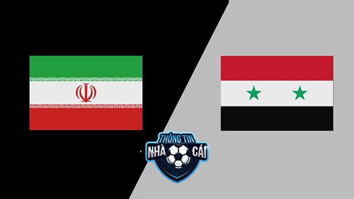 Iran vs Syria – Soi kèo bóng đá 23h00 02/09/2021: Trình độ chênh lệch-Thongtinnhacai